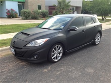 Mazda Speed3 wrap